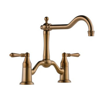 Brizo 62436LF-BZ Tresa Two Handle Kitchen Bridge Faucet - Brushed Bronze