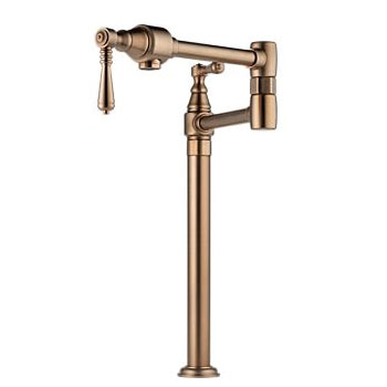 Brizo 62710LF-BZ Traditional Deck Mounted Pot Filler - Brushed Bronze