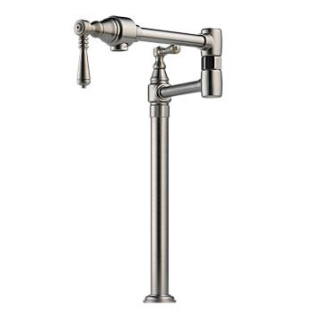 Brizo 62710LF-SS Traditional Deck Mounted Pot Filler - Stainless