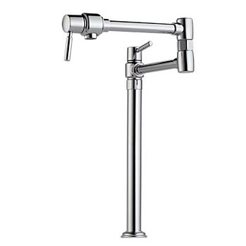 Brizo 62720LF-PC Euro Deck Mounted Pot Filler - Chrome