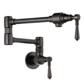 Brizo 62810LF-RB Traditional Wall Mounted Pot Filler - Venetian Bronze