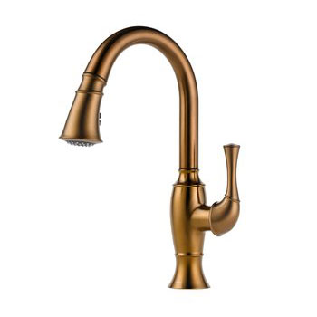 Brizo 63003LF-BZ Talo Single Handle Pull Down Kitchen Faucet - Brushed Bronze