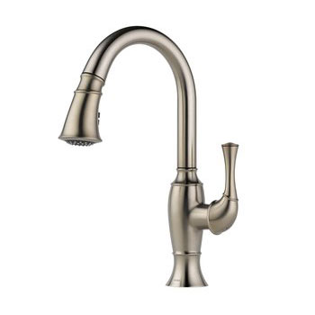 Brizo 63003LF-SS Talo Single Handle Pull Down Kitchen Faucet - Stainless