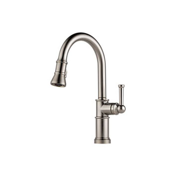 Single Handle Pulldown Kitchen Faucet With Toucho