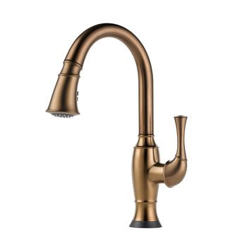 Brizo 64003LF-BZ Talo Single Handle Pull Down Kitchen Faucet with SmartTouch Technology - Brushed Bronze