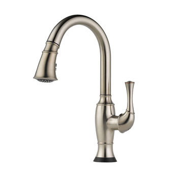 Brizo 64003LF-SS Talo Single Handle Pull Down Kitchen Faucet with SmartTouch Technology - Stainless