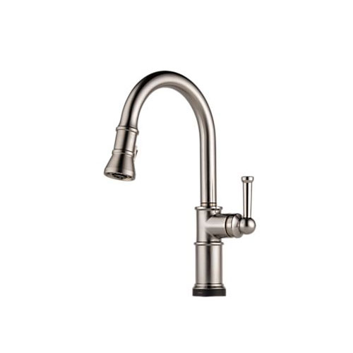Brizo 64025LF-SS Artesso Single Handle Pulldown Kitchen Faucet with Smarttouch Technology - Stainless