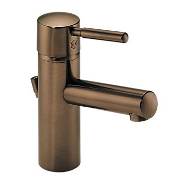 Brizo 65014LF-BZ Quiessence Single Handle Single Hole Vessel Lavatory Faucet - Brushed Bronze