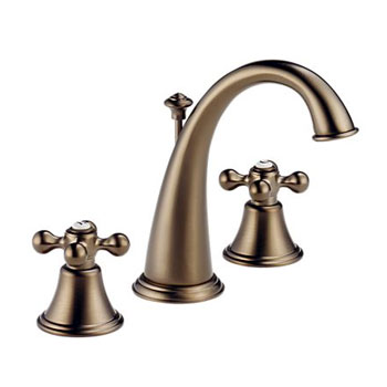 Brizo 6526-BZLHP Providence Belle Two Handle Widespread Lavatory Faucet - Brushed Bronze