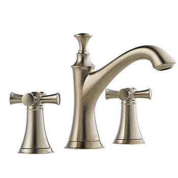 Brizo 65305LF-BNLHP Baliza Two Handle Widespread Lavatory Faucet Less Handles - Brushed Nickel