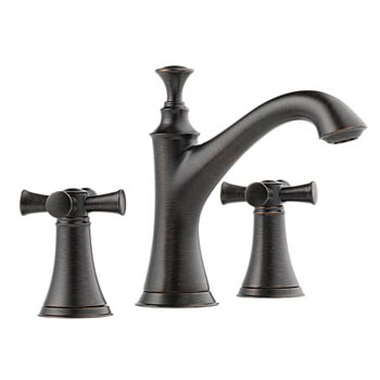 Brizo 65305LF-RBLHP Baliza Two Handle Widespread Lavatory Faucet Less Handles - Venetian Bronze