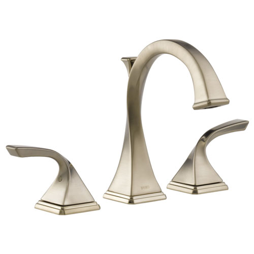 Brizo 65330LF-BN-ECO Virage Two Handle Widespread Lavatory Faucet 1.2 Gpm - Brushed Nickel