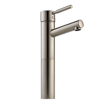Brizo 65414LF-BN Quiessence Single Handle Single Hole Vessel Lavatory Faucet - Brushed Nickel