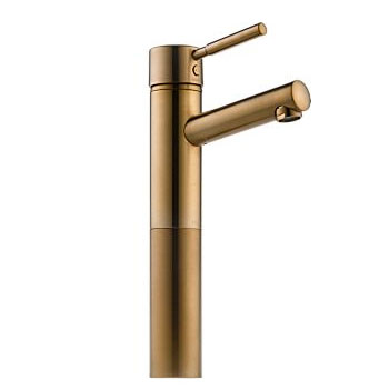 Brizo 65414LF-BZ Quiessence Single Handle Single Hole Vessel Lavatory Faucet - Brushed Bronze