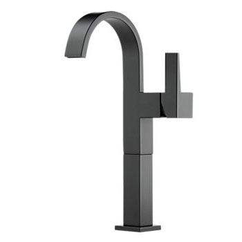 Brizo 65480LF-BL Siderna Single Handle Lavatory Faucet - Matte Black