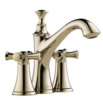 Brizo 65505LF-PNLHP Baliza Two Handle Mini Widespread Lavatory Faucet Less Handles - Polished Nickel