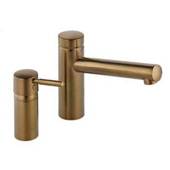 Brizo 67114-BZ Quiessence Roman Tub Faucet with Trim and Rough - Brushed Bronze