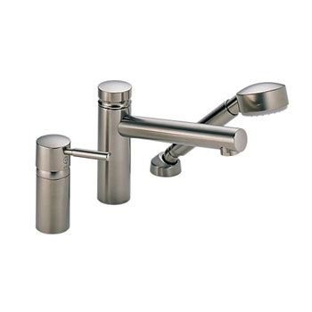 Brizo 67214-BN Quiessence Roman Tub Faucet with Handshower Trim and Rough - Brushed Nickel