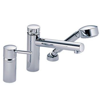 Brizo 67214-PC Quiessence Roman Tub Faucet with Handshower Trim and Rough - Chrome