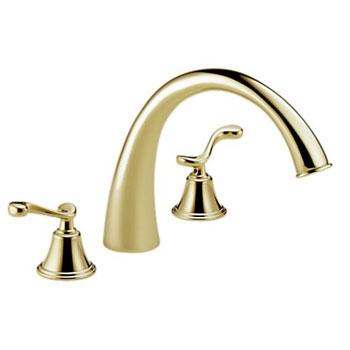 Brizo 6726-BBLHP Providence Belle Roman Tub Faucet - Brilliance Brass