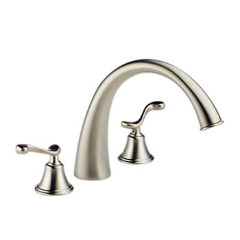 Brizo 6726-BNLHP Providence Belle Roman Tub Faucet - Brushed Nickel