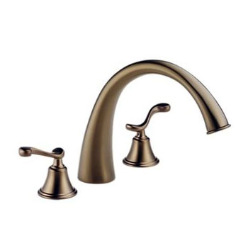 Brizo 6726-BZLHP Providence Belle Roman Tub Faucet - Brushed Bronze