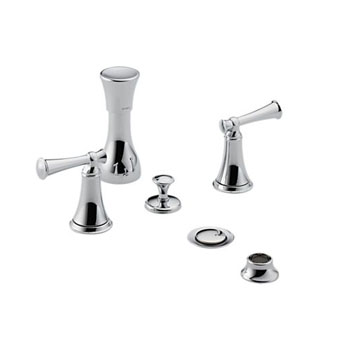 Brizo 68405-PCLHP Baliza Bidet 4-Hole Mount with Vacuum Breaker - Chrome