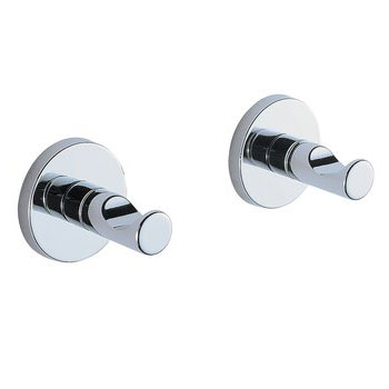 Brizo 693520-PC Quiessence Robe Hooks - Chrome