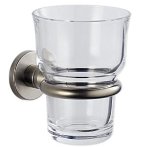 Brizo 6948358-BN Quiessence Tumbler Holder - Brushed Nickel