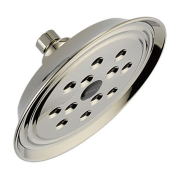 Brizo 82305-PN Baliza Single Function Raincan Showerhead - Polished Nickel