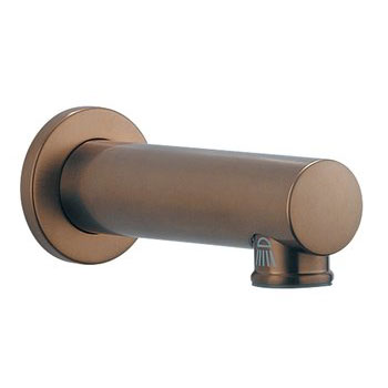 Brizo RP54874BZ Quiessence Tub Spout with Pull-Down Diverter - Brushed Bronze