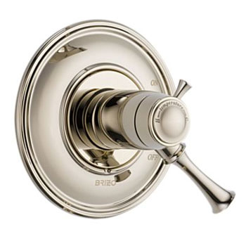Brizo T60005-PN Baliza Valve Only Medium Flow - Polished Nickel