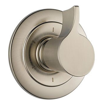 Brizo T60990-BN Rsvp 6 Setting Diverter Trim - Brushed Nickel