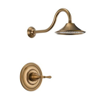 Brizo T60P210-BZ Providence Belle Pressure Balance Shower Trim - Brushed Bronze
