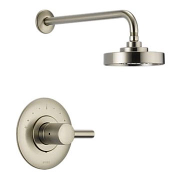 Brizo T60P220-BN Loki Pressure Balance Shower Trim - Brushed Nickel