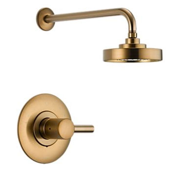 Brizo T60P220-BZ Loki Pressure Balance Shower Trim - Brushed Bronze