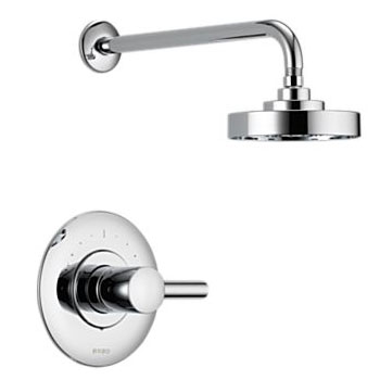 Brizo T60P220-PC Loki Pressure Balance Shower Trim - Chrome