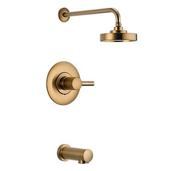 Brizo T60P420-BZ Loki Pressure Balance Tub and Shower Trim - Brushed Bronze