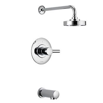 Brizo T60P420-PC Loki Pressure Balance Tub and Shower Trim - Chrome