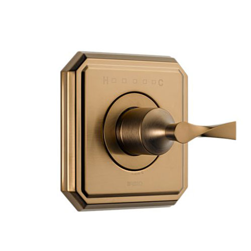 Brizo T66T030-BZ Virage Sensori Thermostatic Valve Trim - Brushed Bronze
