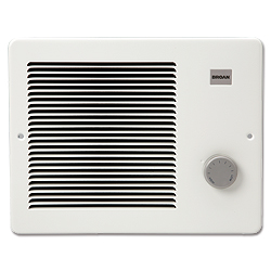 Broan 174 Comfort Flo Wall Heaters - White
