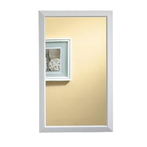 Broan 625N244WHC NuTone Hampton Framed Medicine Cabinet - White