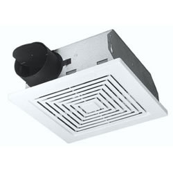 Broan 671 Ceiling and Wall Mount Ventilation Fan White