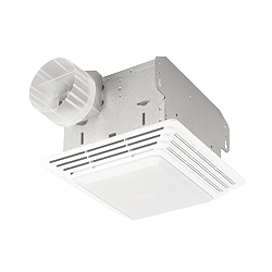 Broan 679 Bath Ventilation Fan and Light Combination - White