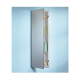 Broan 735M34WHG NuTone Pillar Single Door Recessed Medicine Cabinet - White