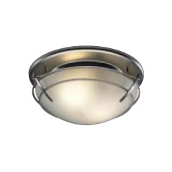Broan 757SN Decorative Ventilation Fan with Light - Satin Nickel