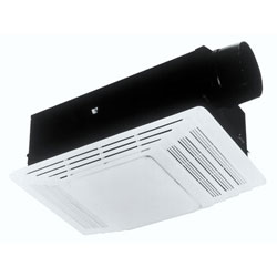 Broan 655 Heater and Bath Fan with Light Combination White