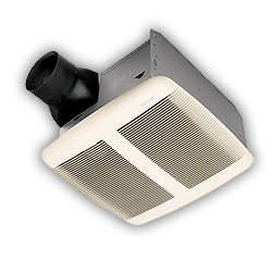 Broan QTR080 Ultra Silent Bath Ventilation Fan - White