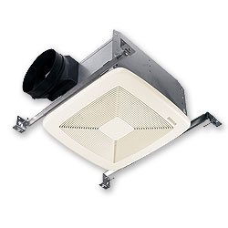 Broan QTXE110 Ultra Silent Bath Ventilation Fan - White