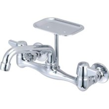Central Brass 0048-UA Wall Mount Faucet - Chrome
